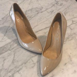 Aldo Pumps beige/nude heels 7